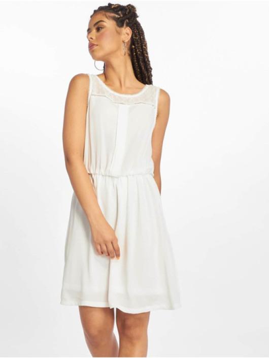 Only Damen Kleid Onlcherry Sl In Weiß 603025