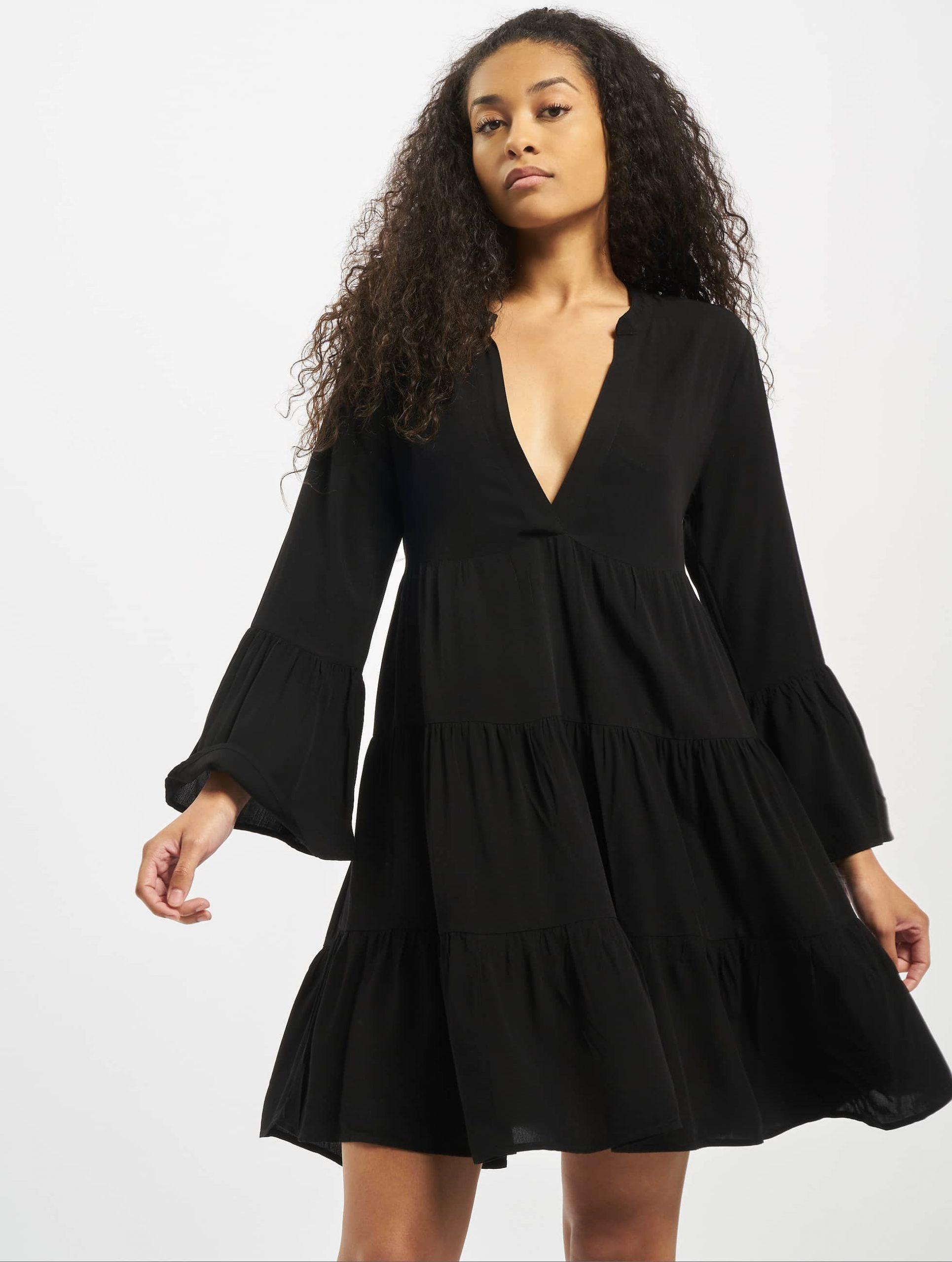 Only Damen Kleid Onlnancy Athena In Schwarz 739488