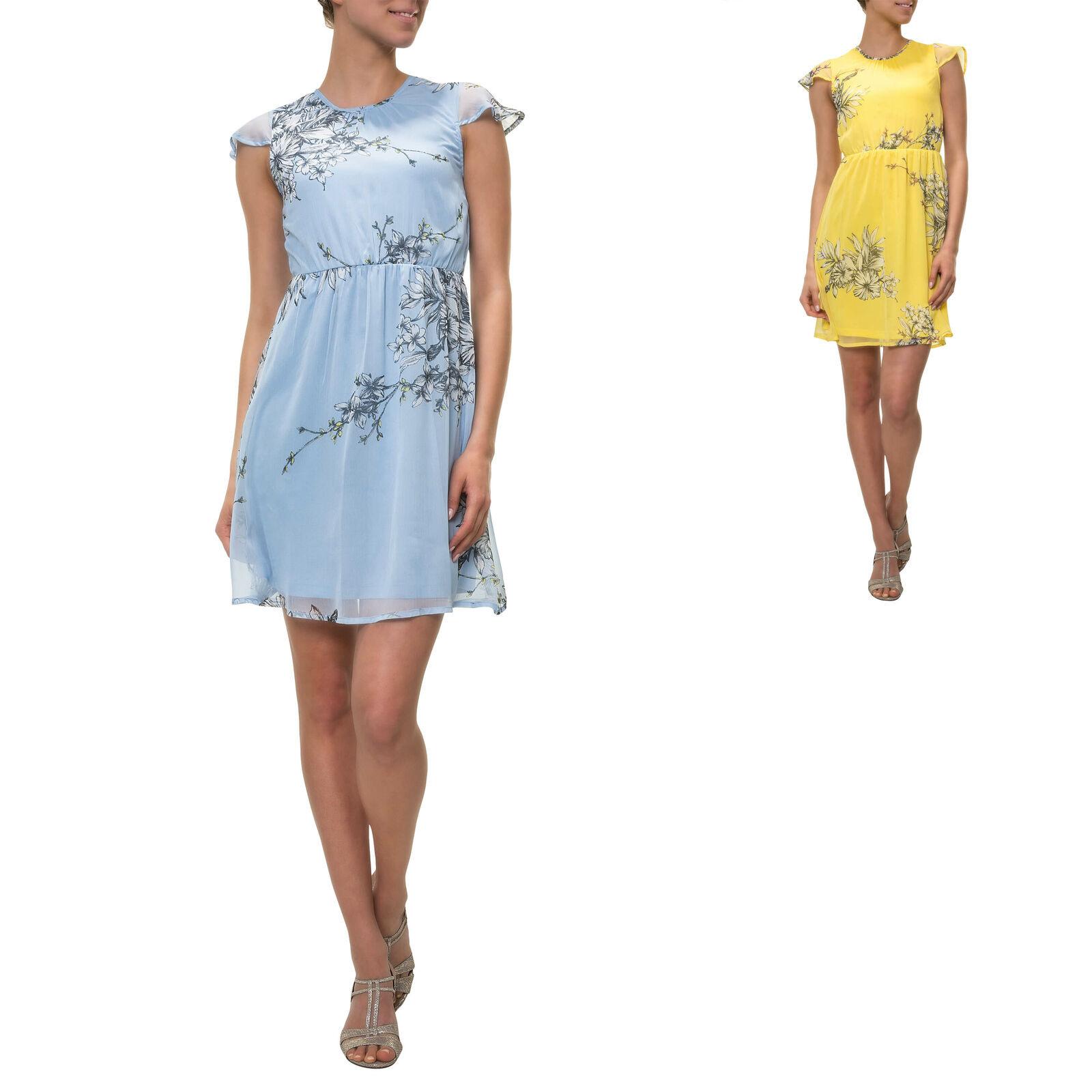 Only Damen Kleid Sommerkleid Trägerkleid Alinien Kleid