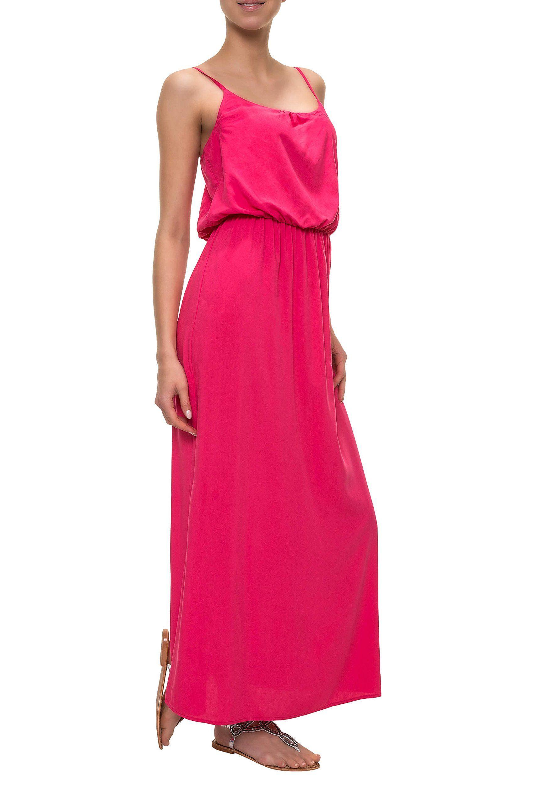 Only Damen Maxikleid Trägerkleid Slip Dress Sommerkleid