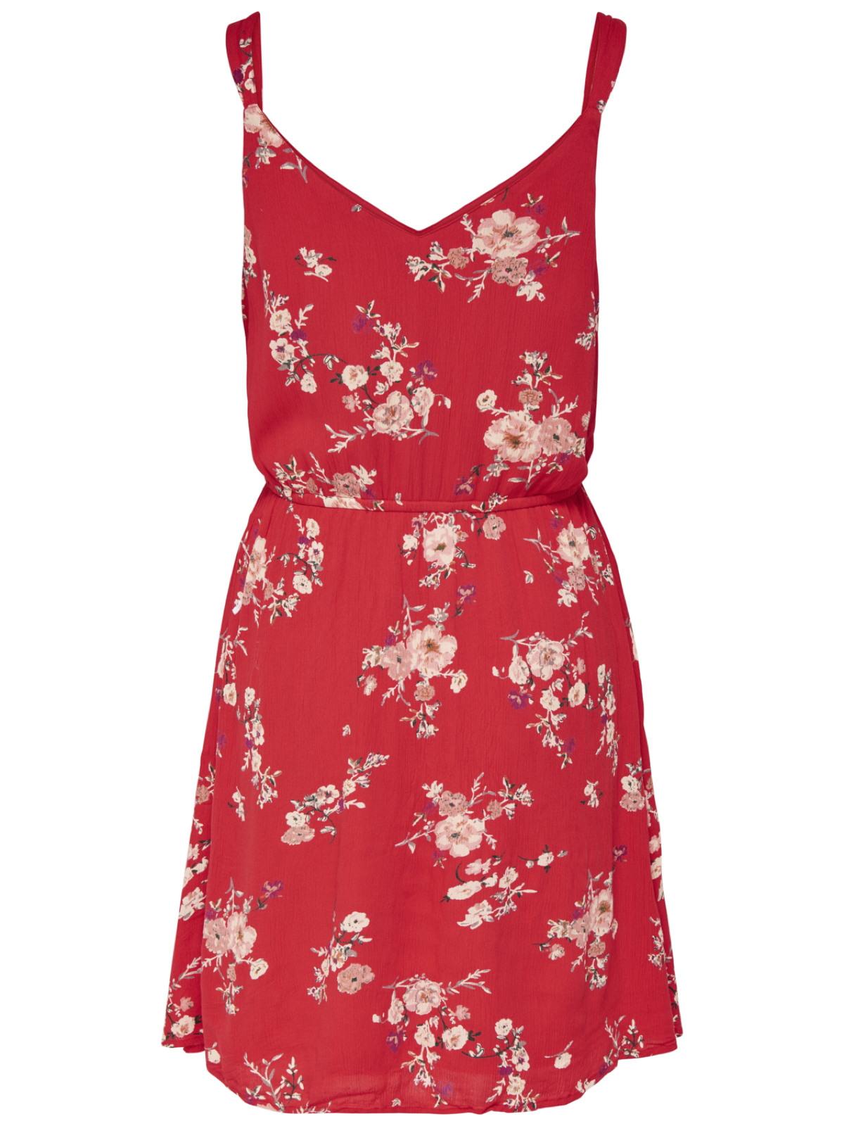 Only Damen Sommerkleid Blumenprint  Urlaubskleid