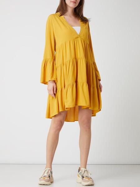 Only Kleid Im Stufenlook Modell 'Nancy' In Gelb Online
