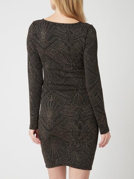 Only Kleid Mit Effektgarn In Gelb Online Kaufen 4068686