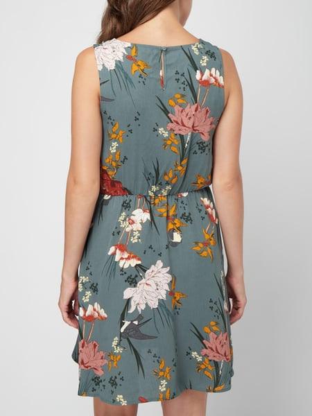 Only Kleid Mit Floralem Muster In Grün Online Kaufen
