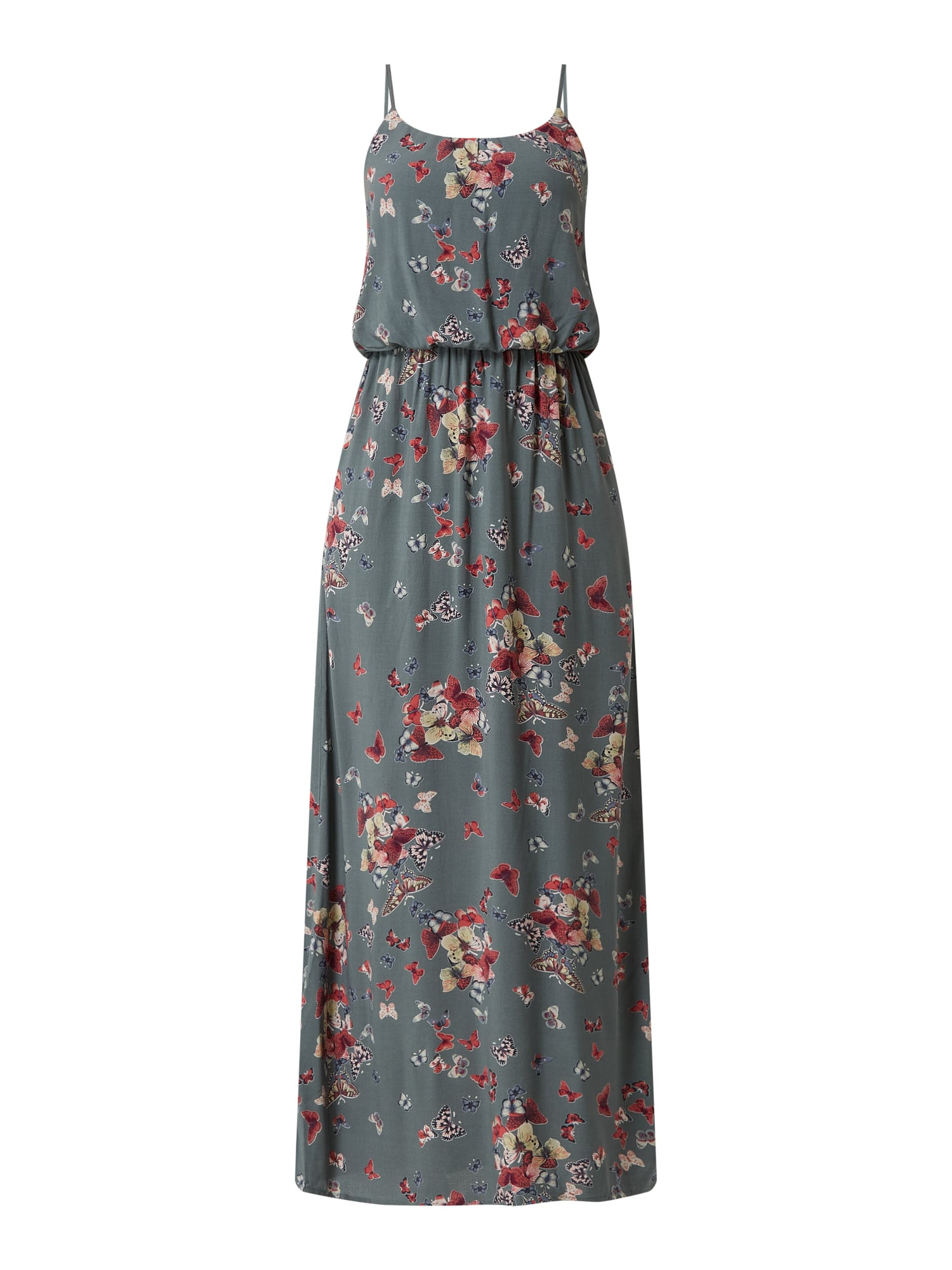 Only Maxikleid Mit Allovermuster Modell 'Butterfly' In