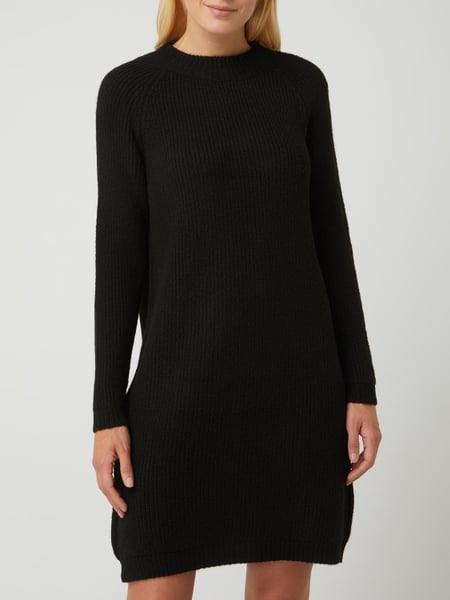 Only Strickkleid Mit Raglanärmeln Modell 'Jade' In Grau