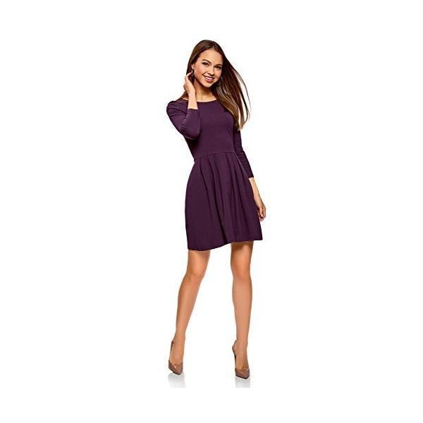 Oodji Ultra Damen Tailliertes Jerseykleid  Kleider