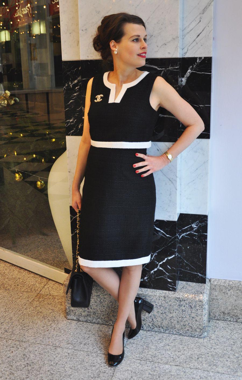Ootdbumpstyle Ssw 21/ Karl Lagerfeld Kleid  Instylequeen