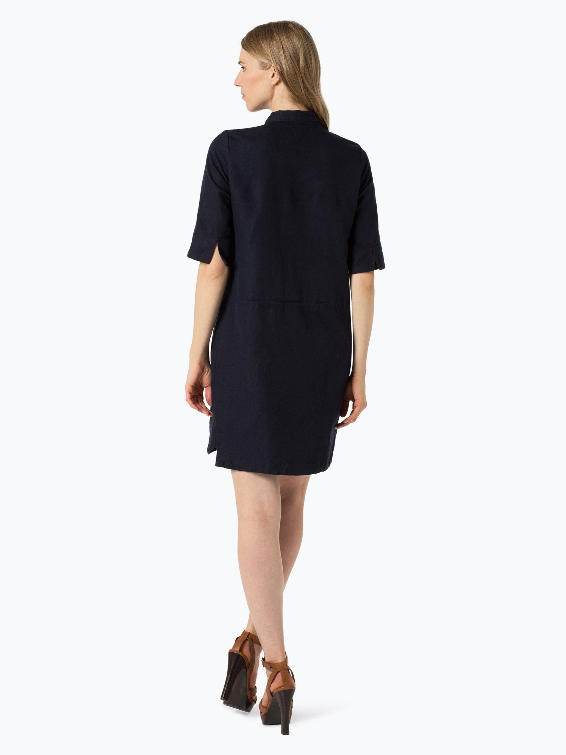 Opus Damen Kleid Mit Leinenanteil  Willmar Raw Online