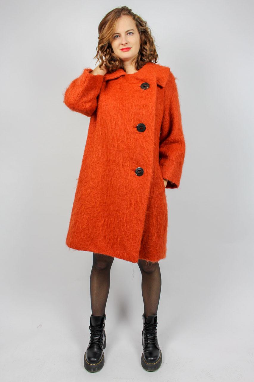 """Orangener Blazer """"Amanda""""  Oma Klara"""