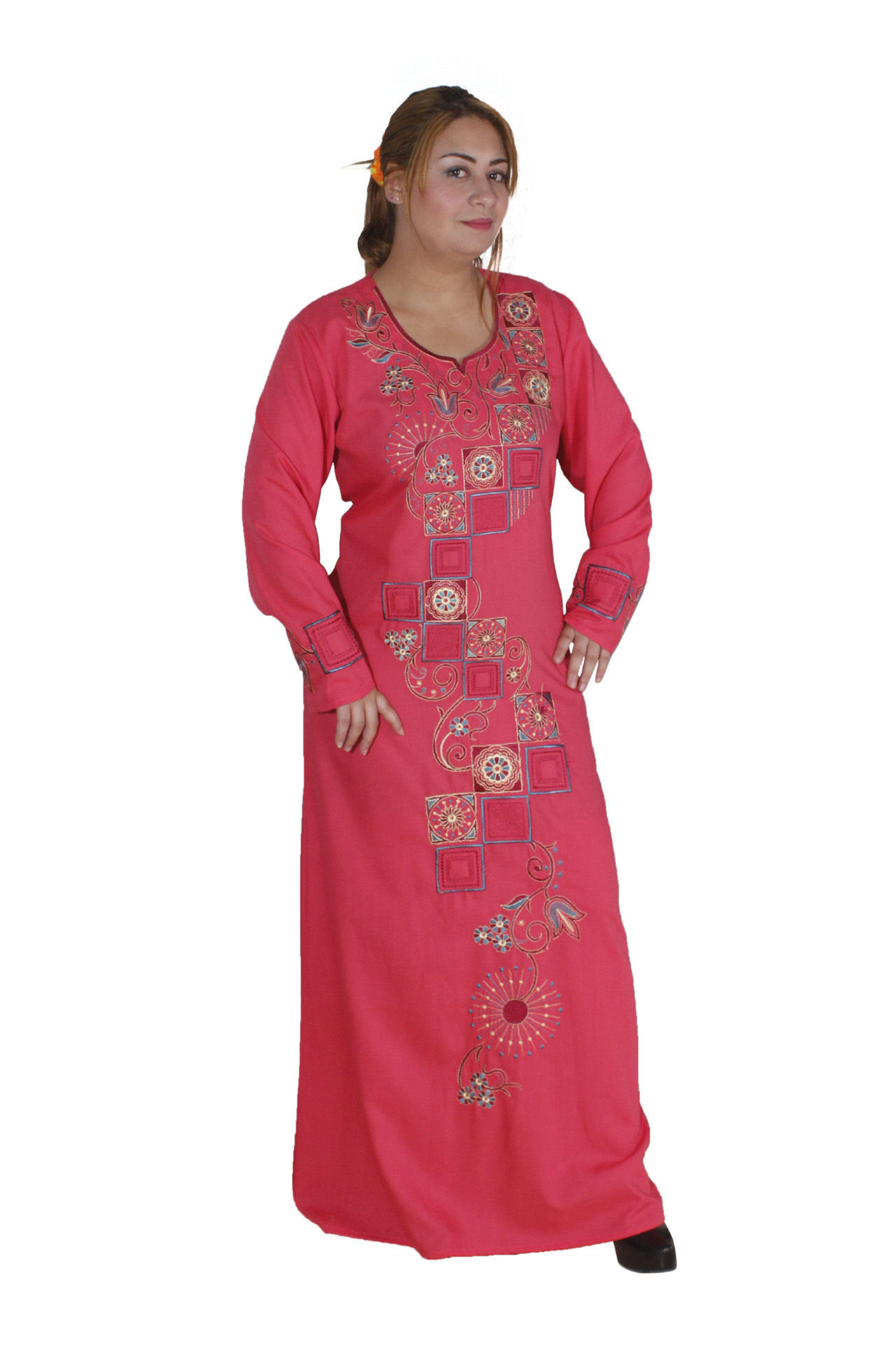 Orientalischer Damenkaftan Rosa