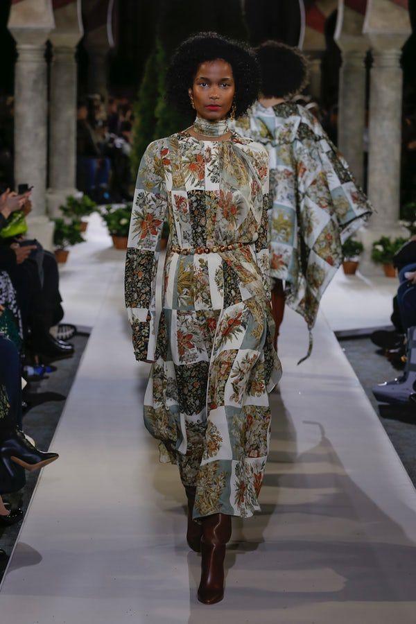 Oscar De La Renta  Midikleider Blumenmuster Kleider