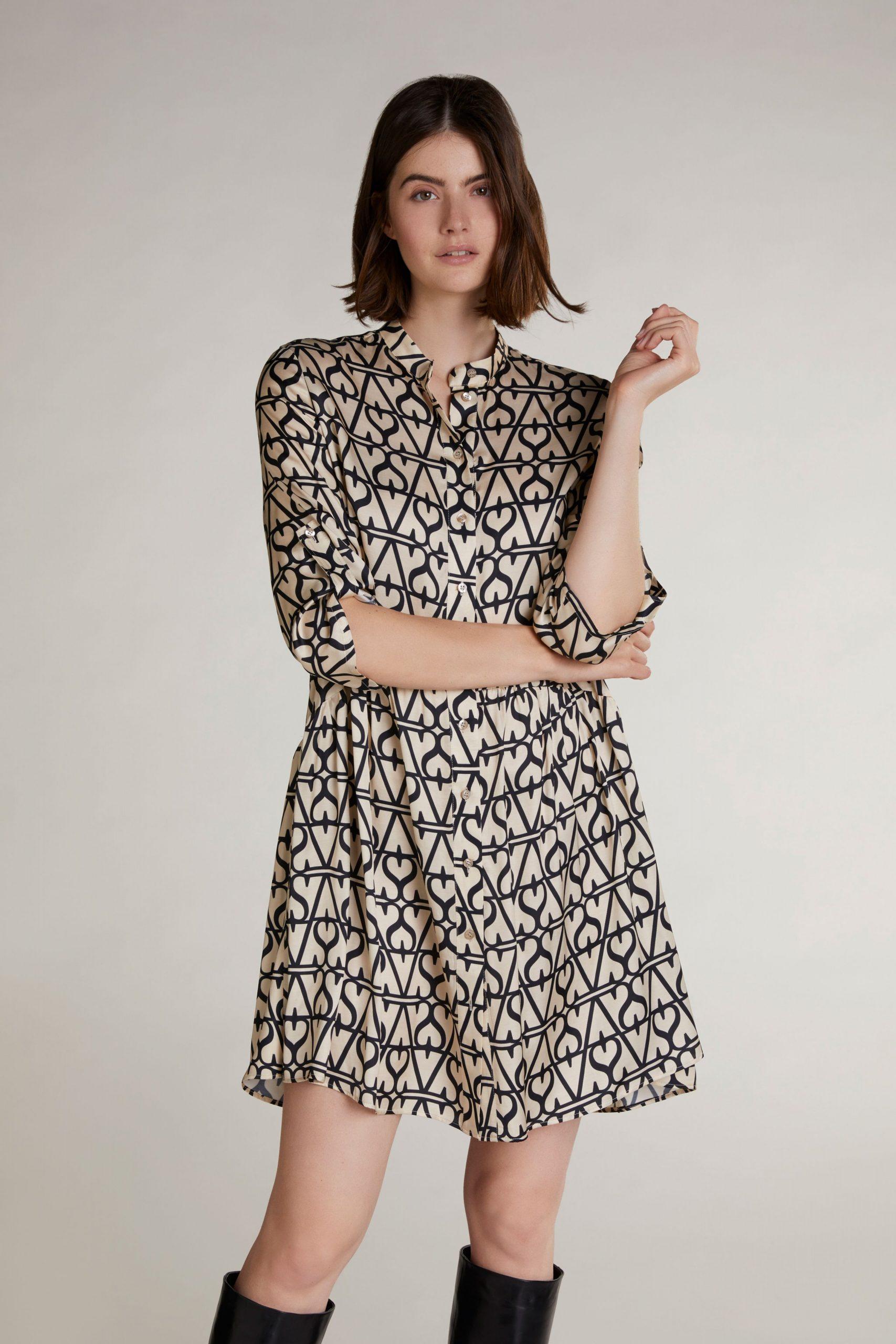 Oui Moments Kleid 10574372  Kleider  Damen  Wöhrl
