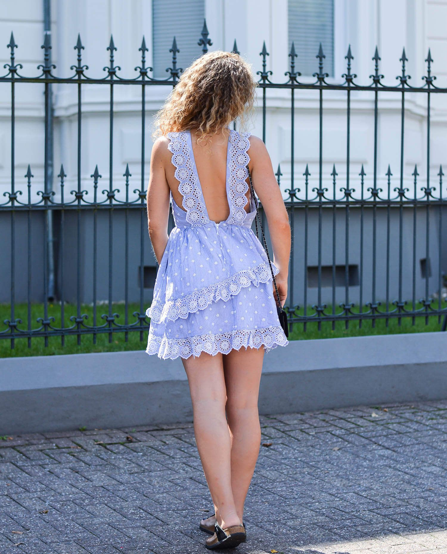 Outfit Hm Trend Dress With Broderie Anglaise And Volants