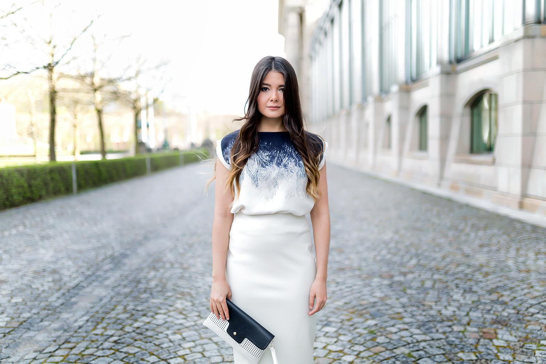 Outfit Hochzeit Gast Kleid  Fashionambit