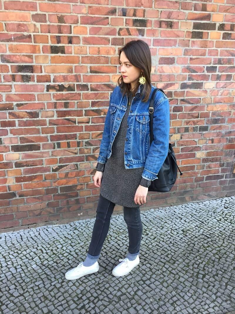 Outfit Kleid Über Hose  Outfit Neue Outfits Und Kleider