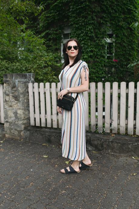 Outfit Mit Paul Hewitt Uhr Und Midikleid Von Zara