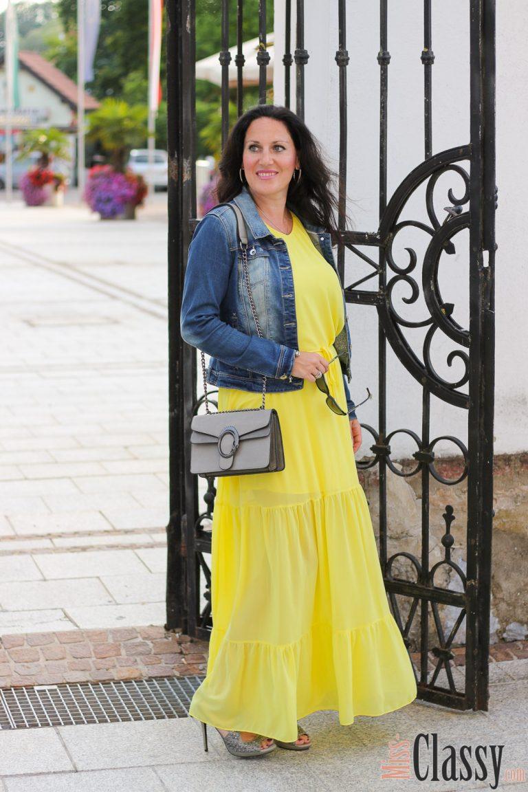 Outfit Summer Colors Mein Gelbes Sommerkleid  7 Girls 7