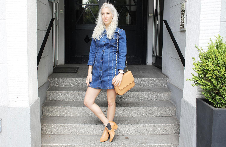 Outfitpost Das Jeanskleid  Stryletz