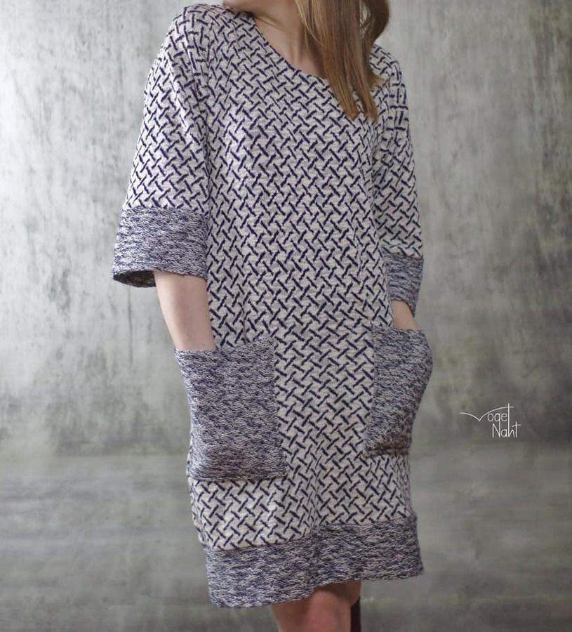 "Oversize Kleid Pullover ""Das Maxiding"" 32  56"