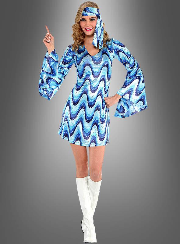 Paillettenkleid 70Er Jahre Schlagerparty Kostüm