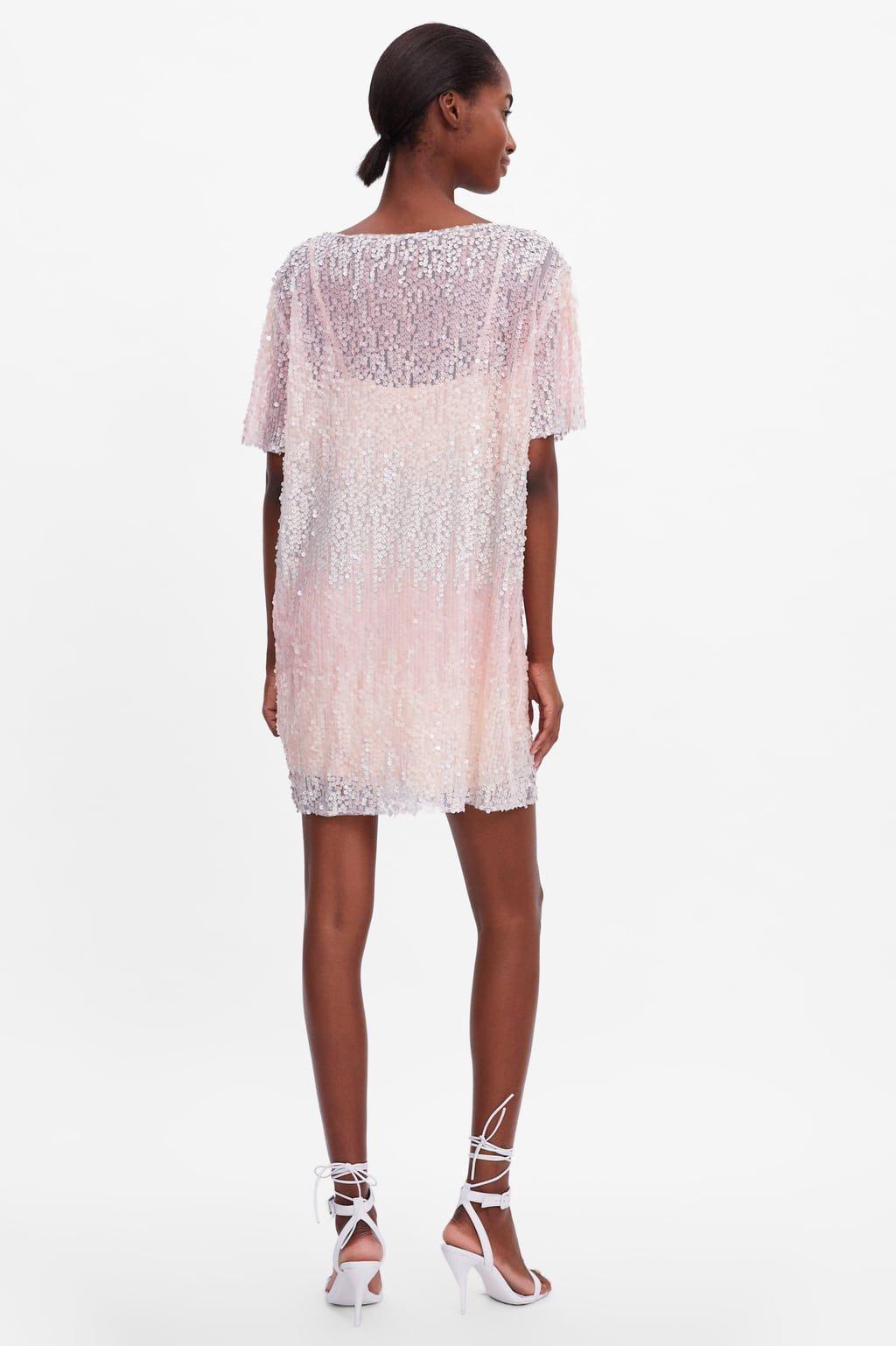 Paillettenkleid  Pailletten Kleid Kleider Damen Nachtkleid