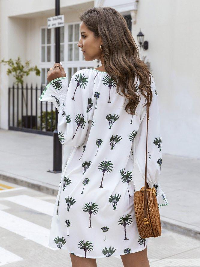 Paneelierte Normale Kleider Im Urlaub  Sommerkleider