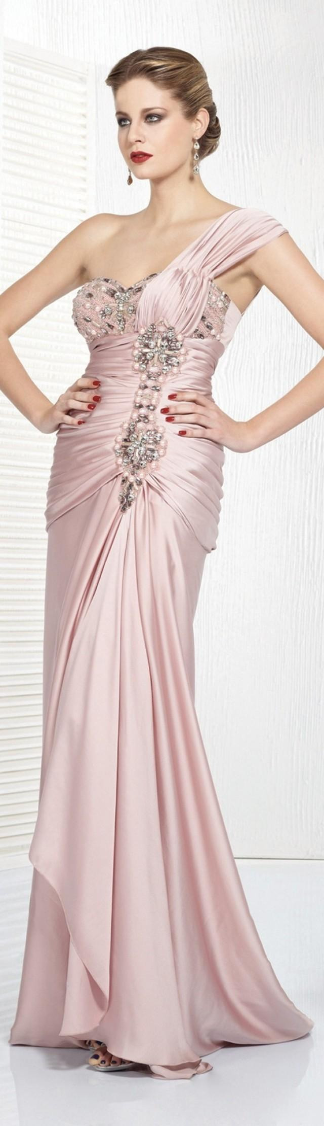 Pastell Hochzeit  Kleider  Pastellrosa 2089881