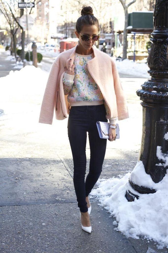 Pastellkleidung Für Frauen Diesen Winter 2018 Zu