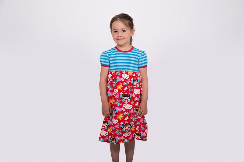 Pattydoo Tutorial 13 Kinderkleid Allrounder Aus Jersey