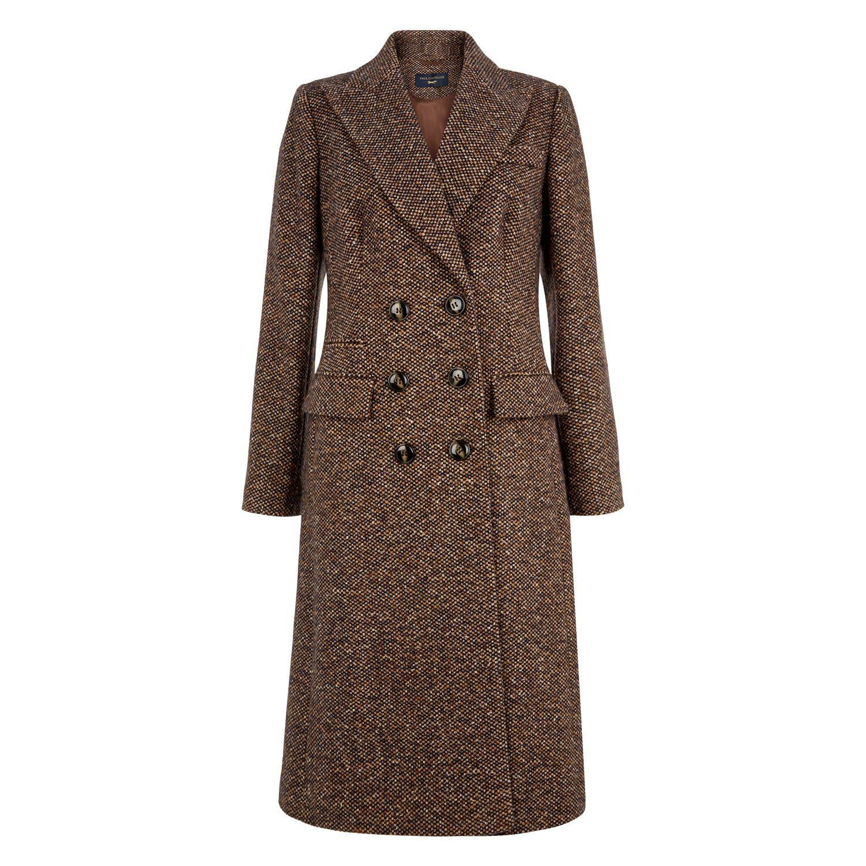 Paul Costelloe Long Tweed Coat  Long Tweed Coat Coat