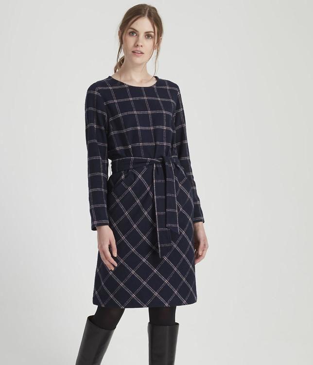 People Tree · Kleid Rosita  Navy · Fairtragen  Kleider
