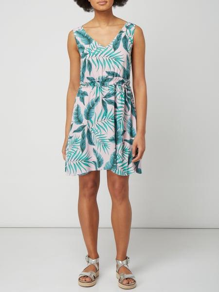 Pepe Jeans Kleid Mit Blättermuster In Rosé Online Kaufen
