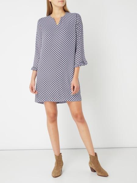 Pepe Jeans Kleid Mit Grafischem Muster In Weiß Online