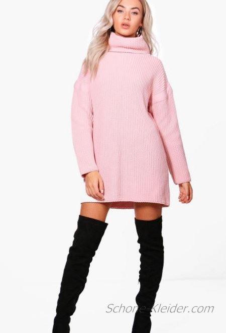 Perfekte 2019 Strickkleid Modetrends Für Winterkleider