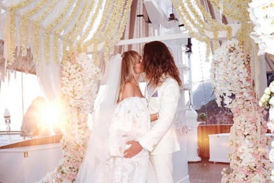 Photos Le Sublime Mariage De Tom Kaulitz Et Heidi Klum
