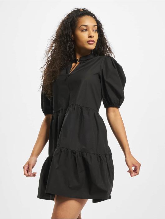 Pieces Damen Kleid Pcmarlie 2/4 Elastic In Schwarz 752684