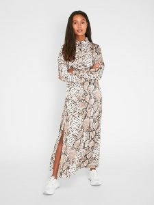 Pieces Kleid In Weiß/ Beige Günstig Kaufen  Limango Outlet