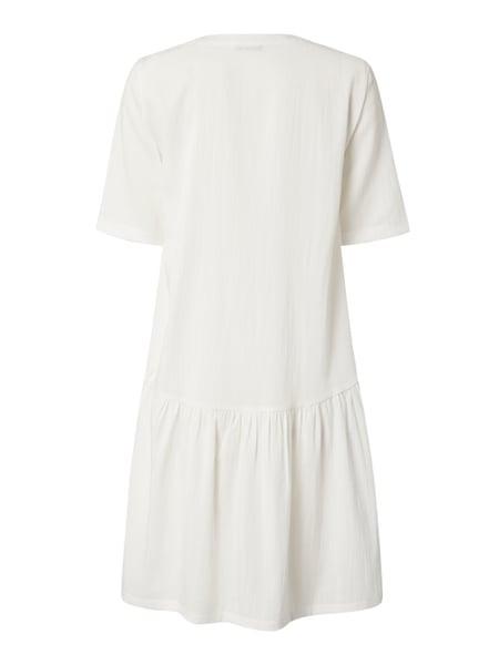 Pieces Kleid Mit Knopfleiste Modell 'Nahla' In Weiß Online