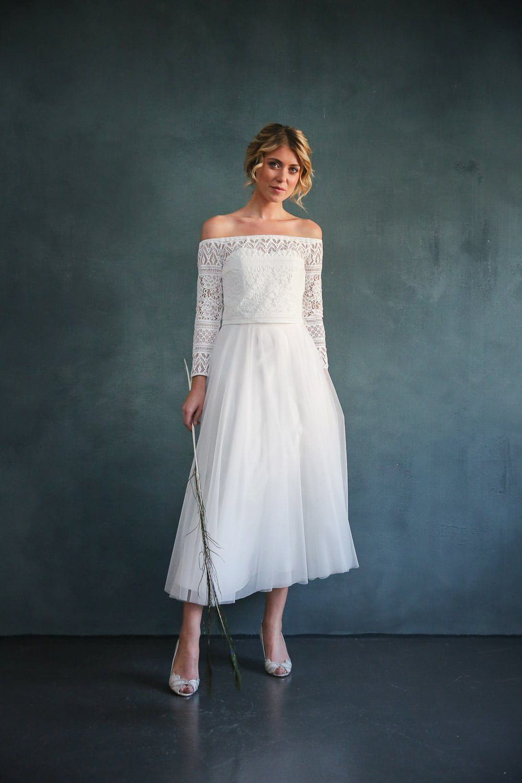 Pin Auf Brautkleider Hochzeitskleider  Zweiteiler