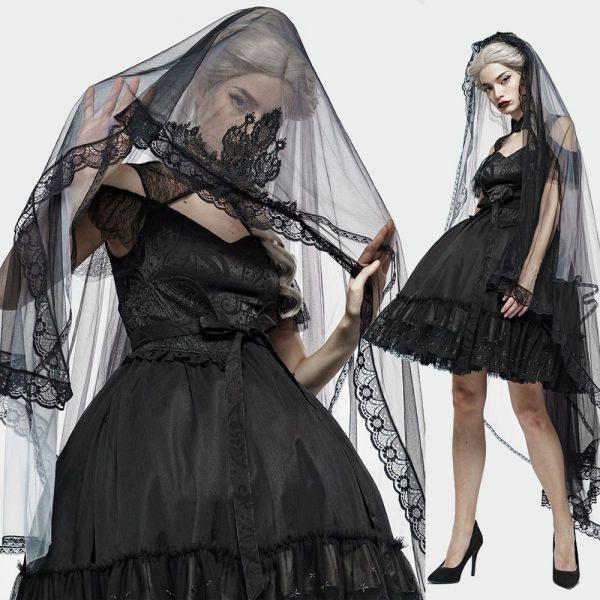 Pin Auf Gothic Brautkleid Schwarzes Hochzeitskleid Und