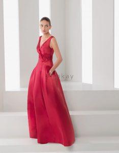 Pin Auf Rote Abendkleider