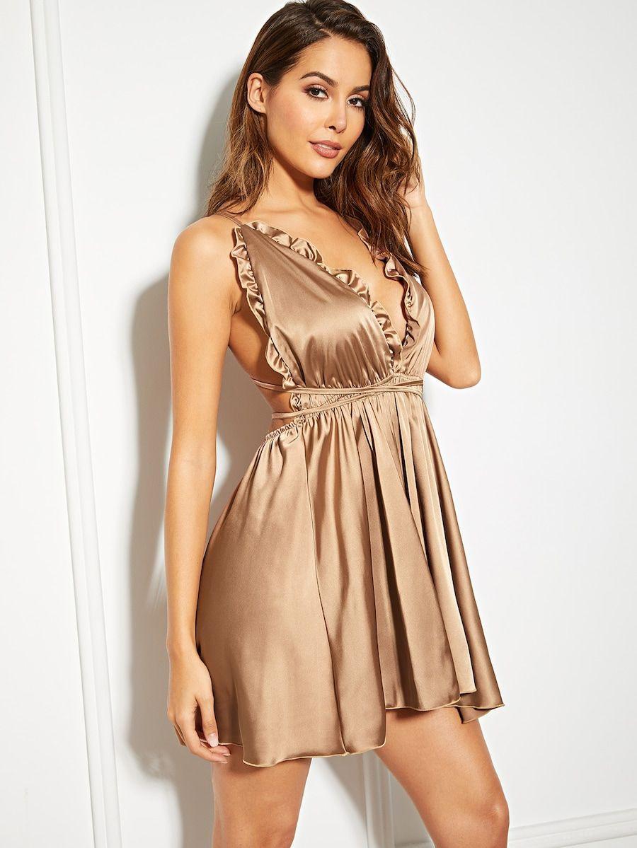 Pin Auf Satin Summer Dress