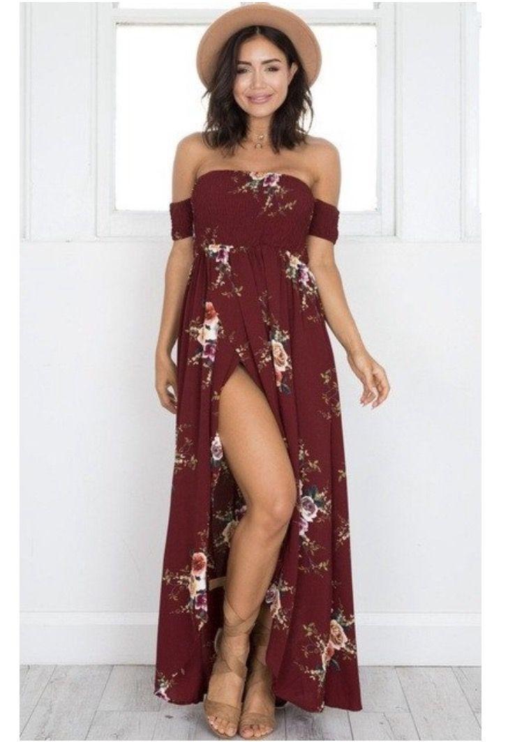 Pin Von Abla Trends Auf Beach Dresses  Sommer Blumenkleid