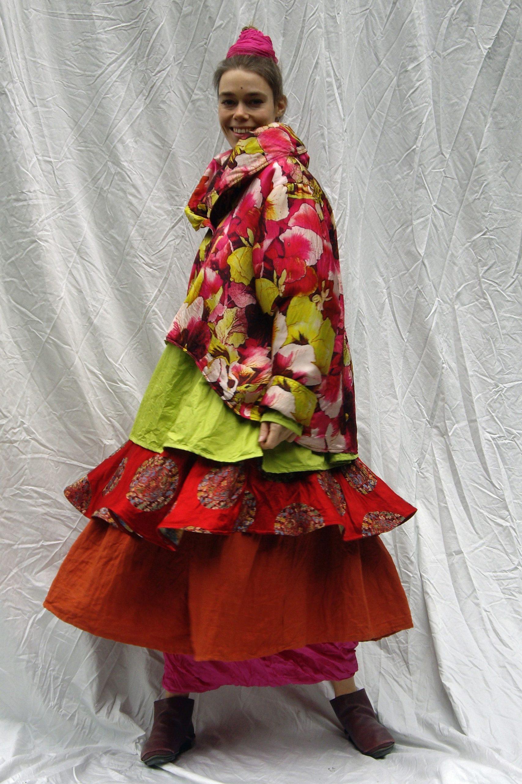 Pin Von Anette Spitzl Textilart Auf Musterbunt  Modestil