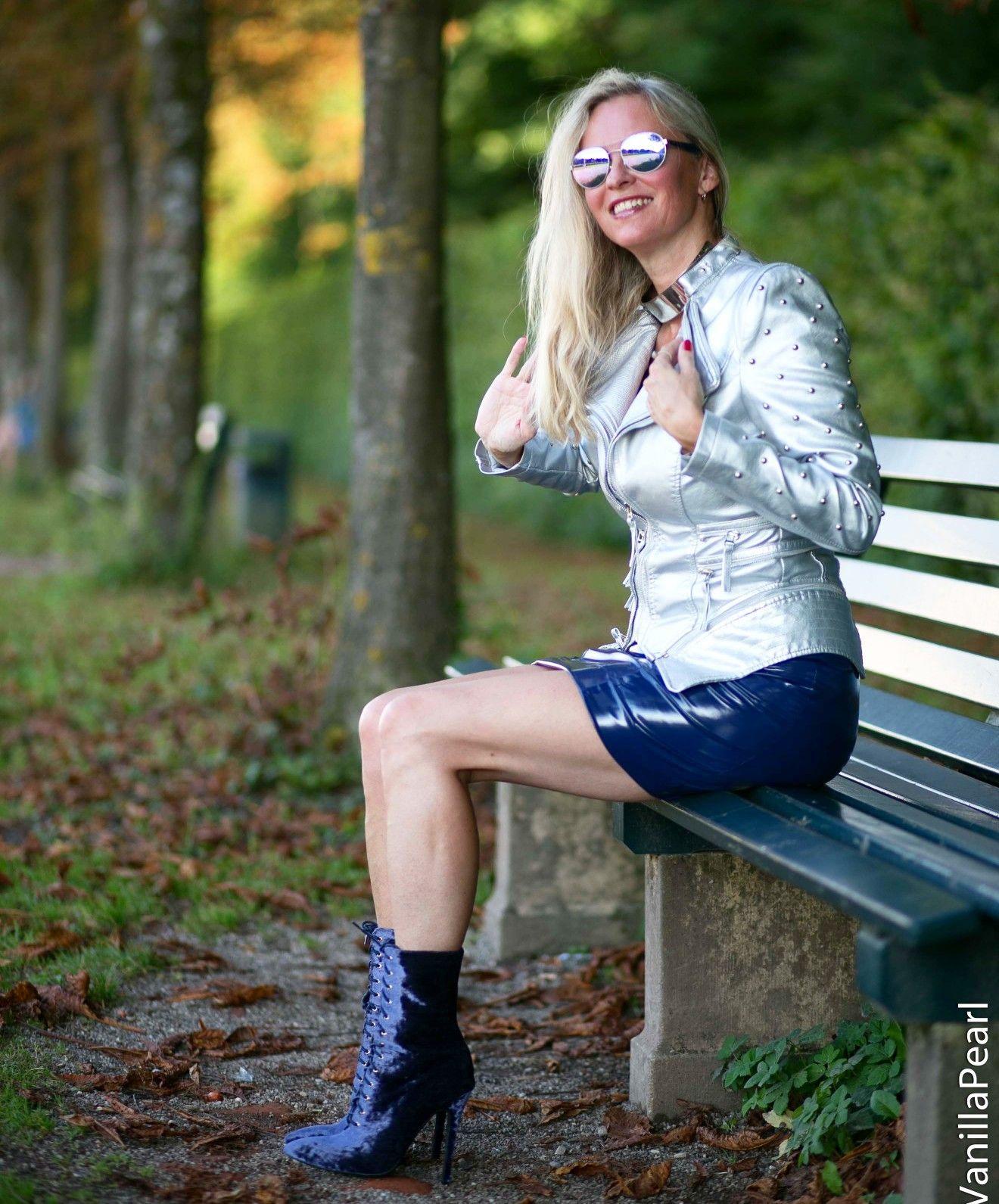 Pin Von Arcanum Fashion Auf Lackrock  Modestil Mode