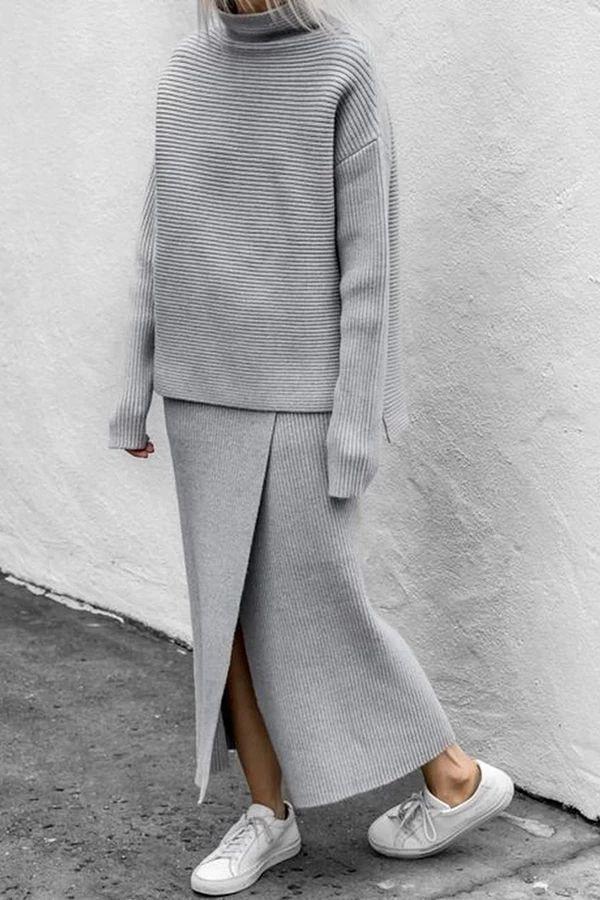 Pin Von Carina Köberl Auf Fashion In 2020  Strickkleid