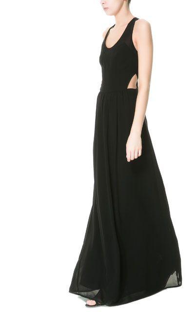 Pin Von Chiang Mai Casey Auf Zstyle  Schwarzes Kleid Zara