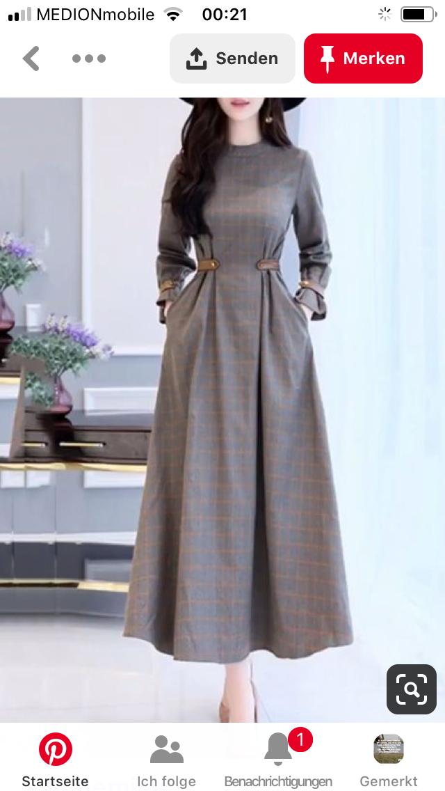 Pin Von Conny  Auf Meins  Maxi Kleider 60Er Mode Hijab