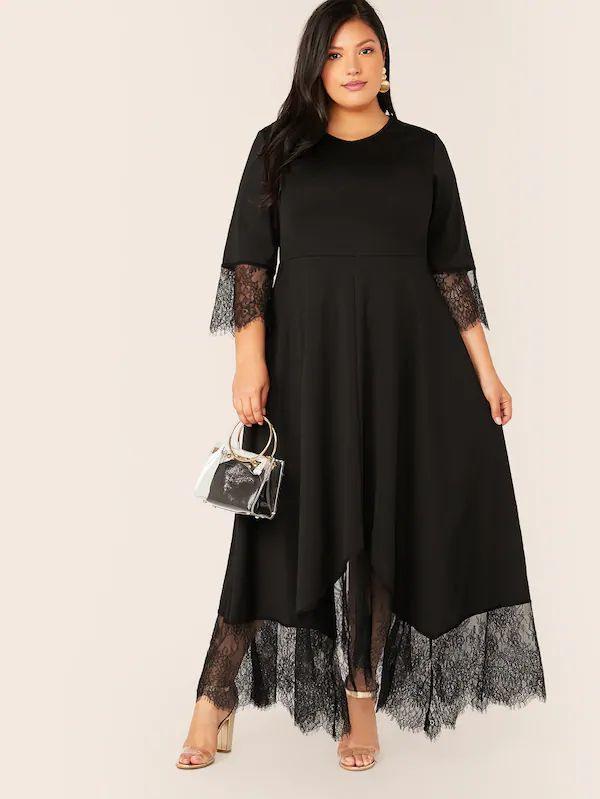 Pin Von L Auf Dream Wardrobe  Kleid Plus Größen